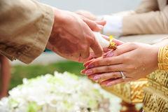 bain sacré mariage Thaïlande