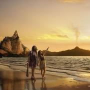 Couple préhistorique